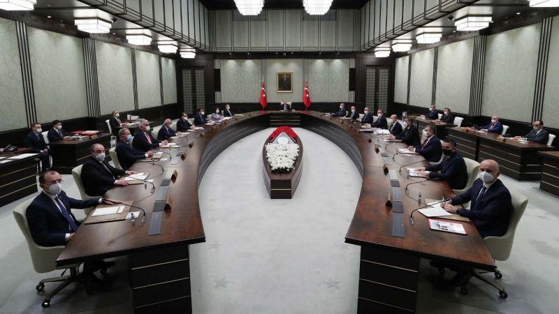 Kabine toplantısı sonrası alınan kararlar açıklandı