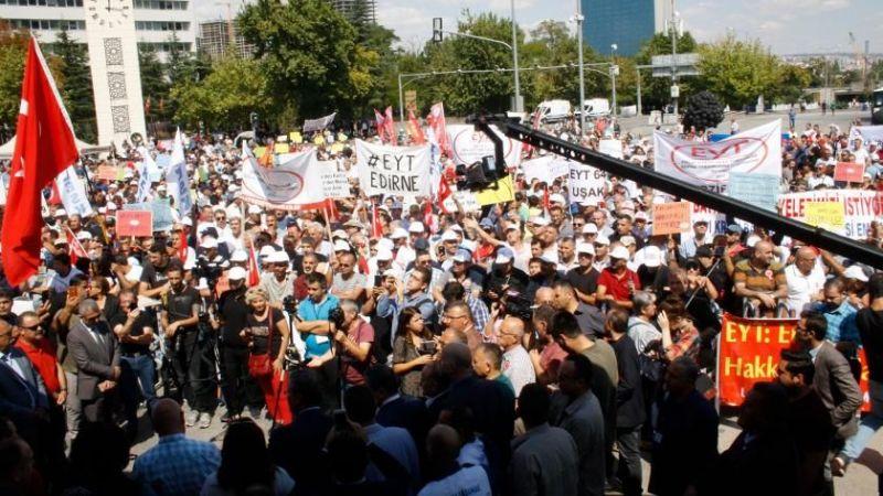 EYT'liler Ankara'ya çıkarma yapacak! Geri sayım başladı