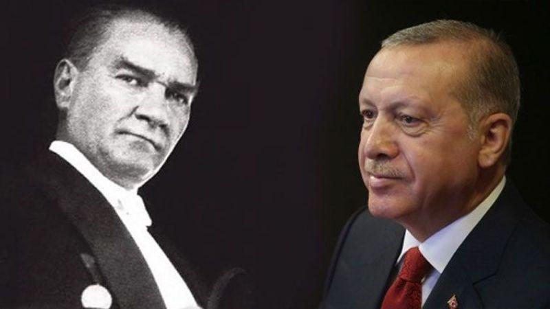 Cumhurbaşkanı Erdoğan'dan Atatürk açıklaması!