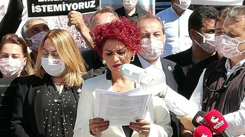 """Gönül Boran Özüpak Ankara'da konuştu! """"Lütuf istemiyoruz"""""""