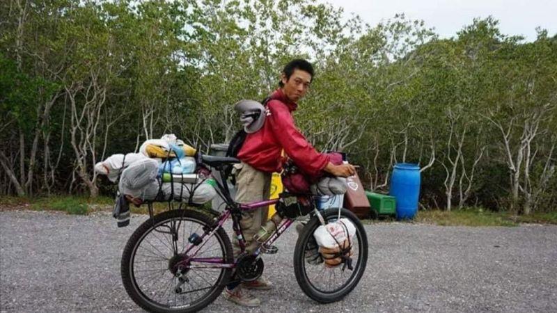 12 yıldır bisikletiyle dünyayı gezen Japon turist, Türkiye'de bıçaklandı!