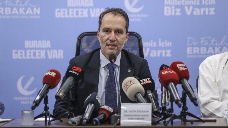 """Fatih Erbakan'dan korona açıklaması! """"Varyantların nedeni aşılar"""""""