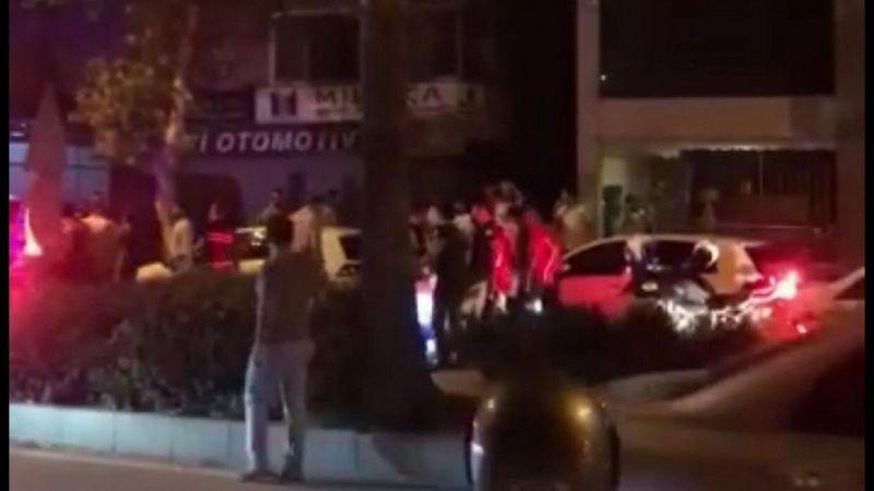 """Polisin """"Dur"""" ihtarına uymayıp 3 polisi ve 1 vatandaşı yaraladılar!"""