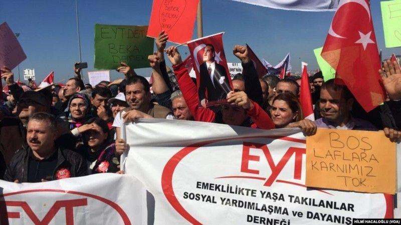 AK Parti'nin başı EYT'liler ile dertte!