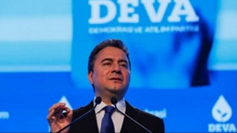 """Deva PartisiGenel Başkan Ali Babacan: """"Sağlık sigorta sisteminin bu kadar yaygın olduğu bir ülkede, COVID-19..."""""""