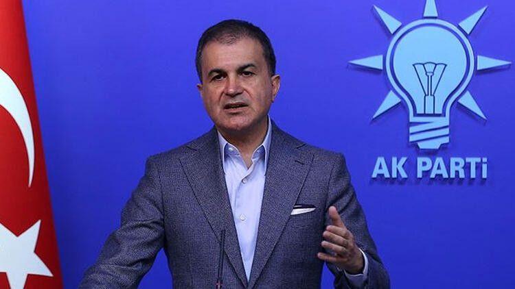 """AK PARTİParti Sözcüsü Ömer Çelik: """"Kendine sanatçı diyen bir barbar"""""""