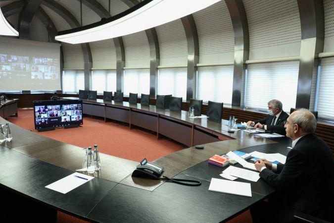 CHP Dış Politika Danışma Kurulu şubat ayı toplantısı, Kılıçdaroğlu başkanlığında yapıldı