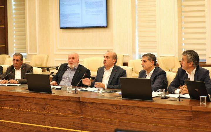 Büro Memur-Sen'in teklifleri Çalışma ve Sosyal Güvenlik Bakanlığında müzakere edildi