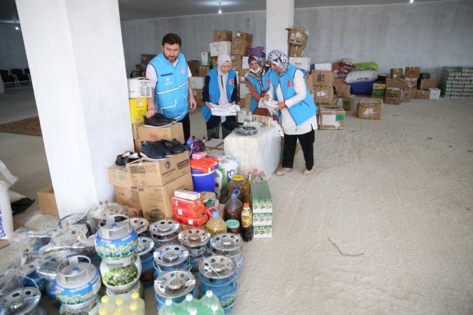 Türkiye Diyanet Vakfından yangın bölgelerinde yardım seferberliği