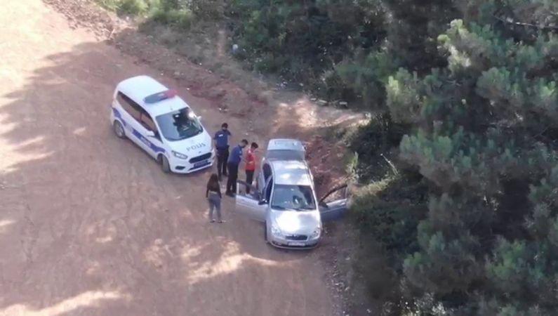 Aydos Ormanı'na kaçak giren araç sürücüsüne ceza
