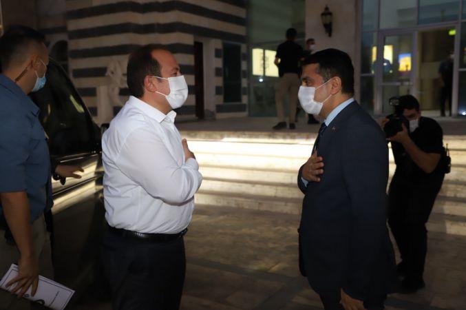 Cizre Belediyesi: Şırnak Valimiz Sn. Ali Hamza Pehlivan'dan Kaymakam/ Belediye Başkan V. Mehmet Tunç'a Hayırlı Olsun Ziyareti