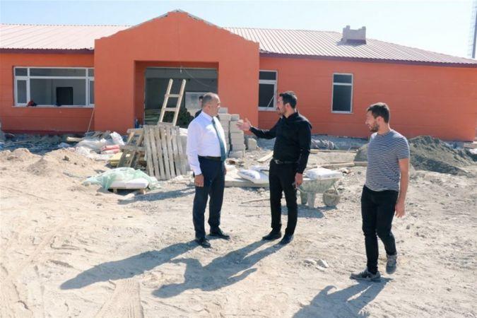 İl Müdürümüz Çalgan, Tutak ve Patnos'ta ki Spor Yatırımlarını İnceledi