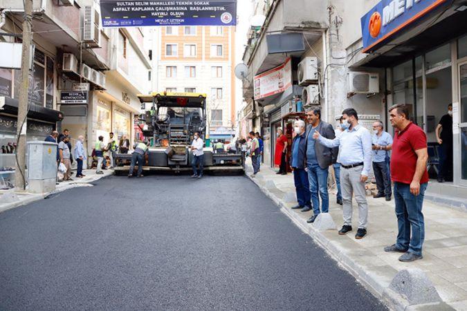 Kağıthane Belediyesi :KAĞITHANE SOKAK SOKAK YENİLENİYOR
