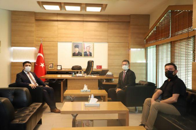 Cizre Belediyesi: Kaymakam/ Belediye Başkan V. Mehmet Tunç'a Hayırlı Olsun Ziyareti.