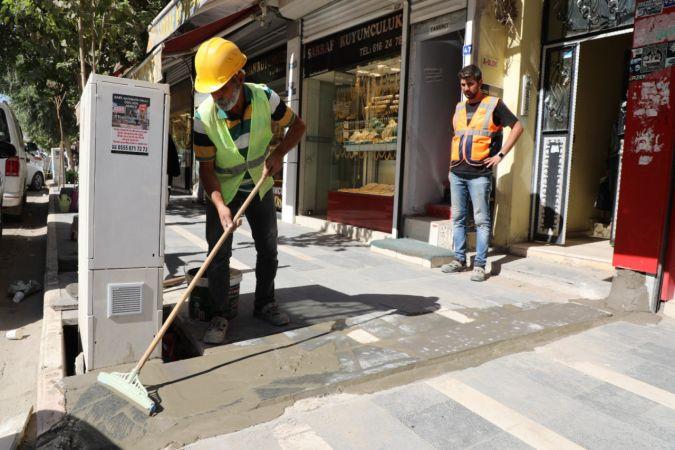 Cizre Belediyesi: Esnaf Talepte Bulundu, Kaymakam/ Belediye Başkan V. Mehmet Tunç, Çalışma Başlattı.