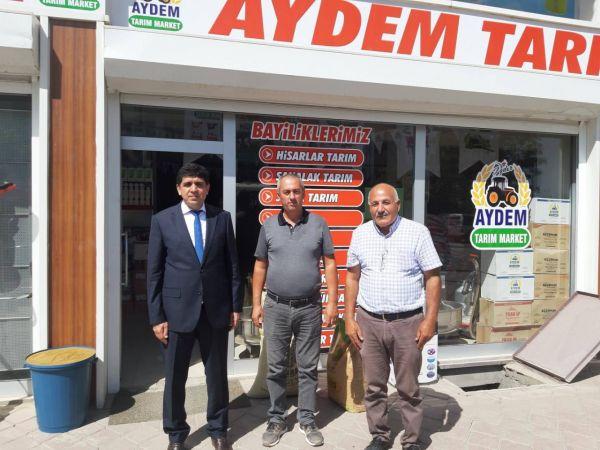 Rektör Alma'dan Aydem Tarım Market İşletmesine Ziyaret