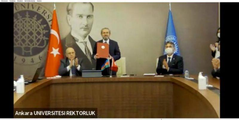 """Ankara Üniversitesi: ile Azerbaycan Teknik Üniversitesinden """"Çift Diploma"""" Protokolü"""
