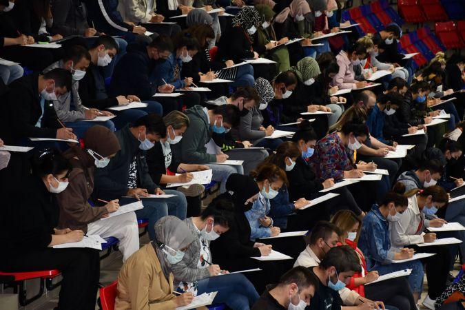 Personel Alımı İçin İkinci Sınav Gerçekleştirildi