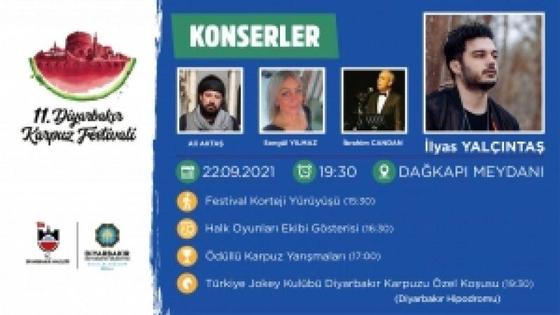 Diyarbakır Büyükşehir Belediyesi: Diyarbakır Karpuz Festivali ile gönüller şenlenecek