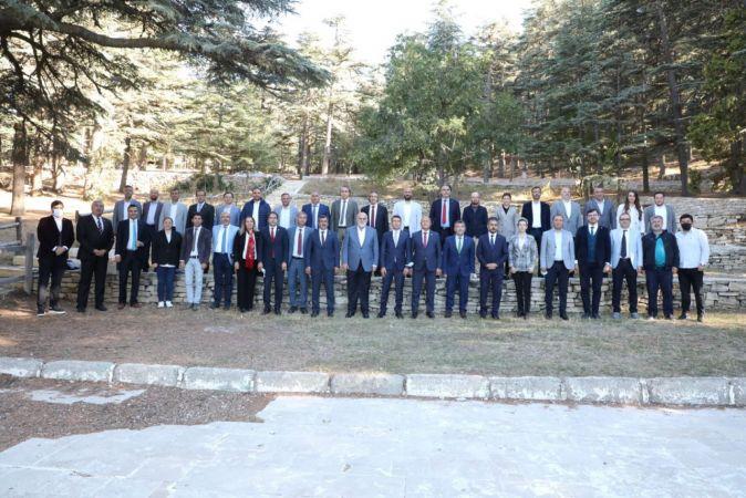 ISUBÜ Şarkikaraağaç Buluşması, TBMM Başkanvekili Bilgiç'in Başkanlığında Yapıldı