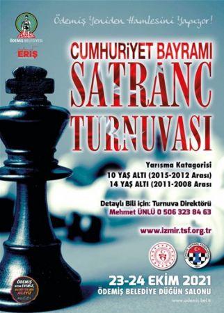 """""""29 Ekim Cumhuriyet Bayramı Satranç Turnuvası"""" yapılacak"""