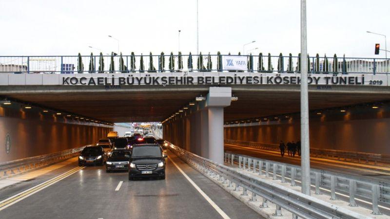Köseköy Köprülü Kavşağı Bakan Dönmez tarafından açıldı