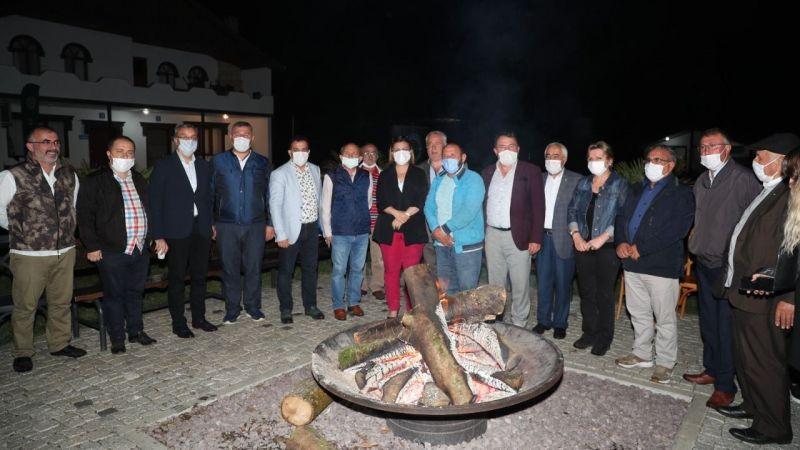 Hürriyet  Ziraat Odası başkanlarını Sarısu'da ağırladı