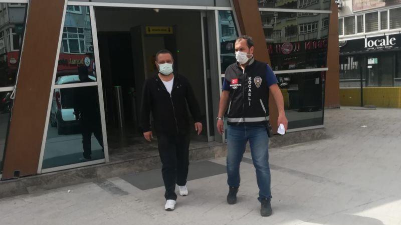 10 yıl hapis cezası ile aranan hükümlü polise yakalandı