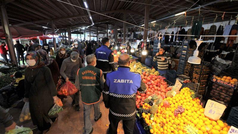 Başiskele'de cumartesi günleri sebze-meyve pazarları açılacak