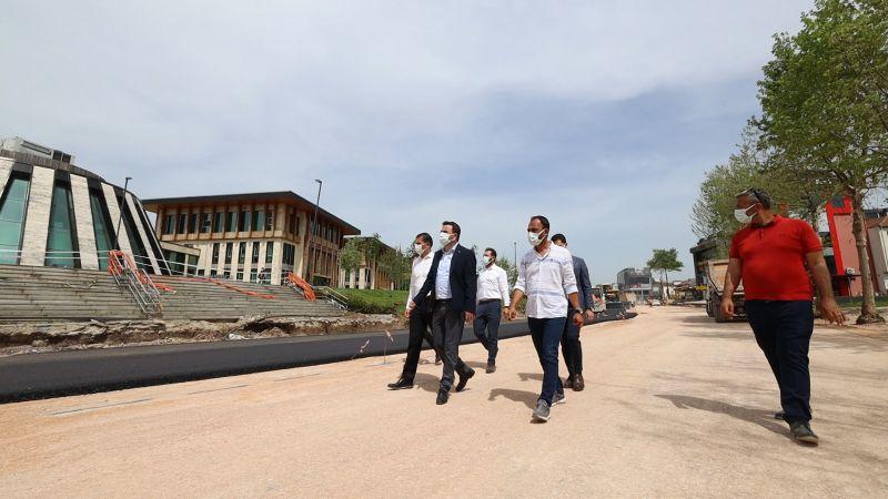 Selahattin Eyyübi Caddesi'nde asfalt çalışmaları başladı