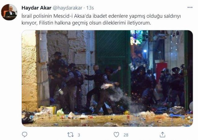İsrail'in Mescid-i Aksa saldırısına Kocaeli'den art arda sert tepkiler!