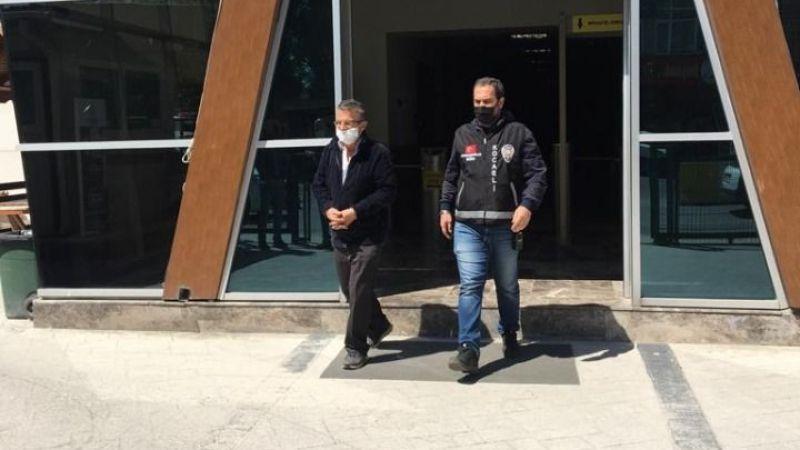 Dolandırıcılık suçlarından para ve hapis cezası olan iki kişi yakalandı