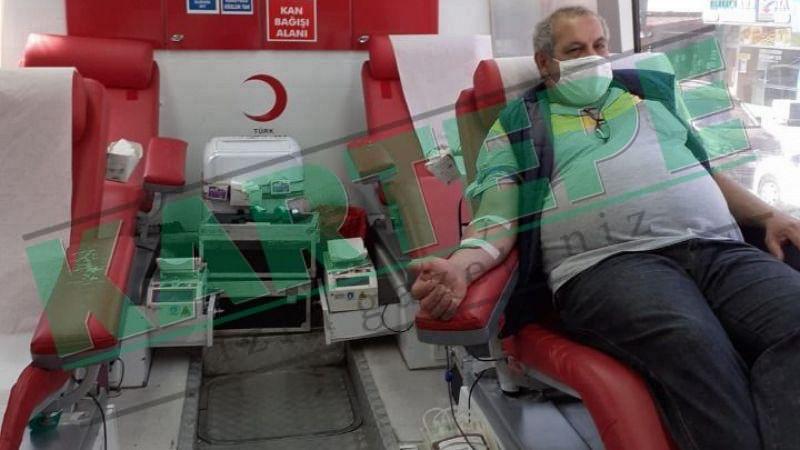 Kızılay duyarlı Kartepelileri kan vermeye bekliyor