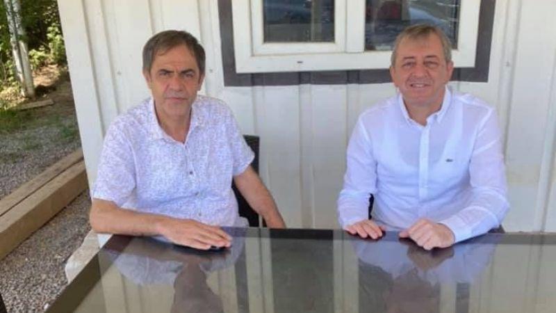 Aydoğdu duyurdu, Gelecek Partisi'nden istifa eden Kurban Aktaş DP'ye katıldı