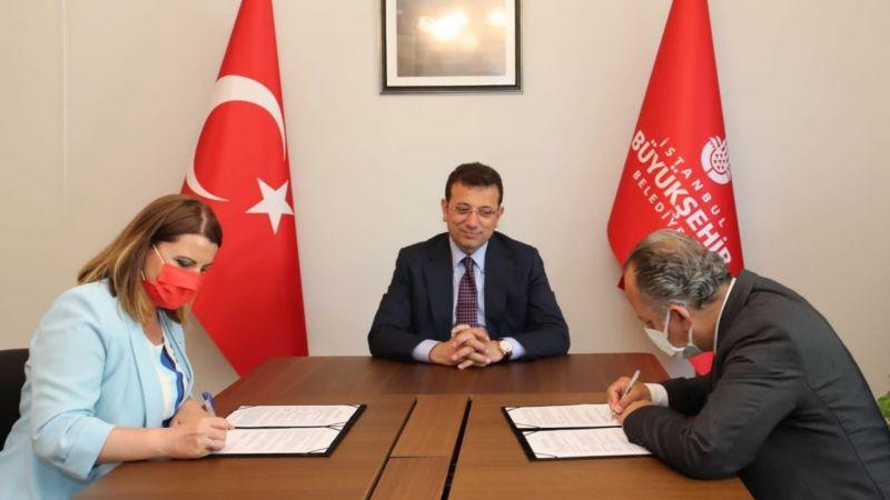 İBB ve İzmit Belediyesi 'Çınar' sloganıyla bir projeye daha imza attı