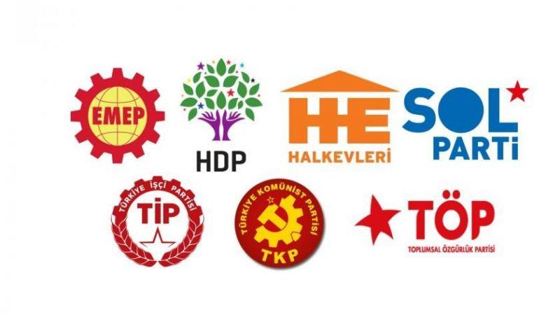 Sol-sosyalist partilerden ortak çağrı: Kirli ittifaka karşı mücadeleye