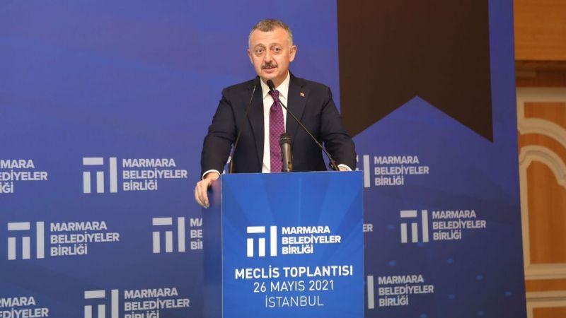 Marmara Belediyeler Birliği'nde Büyükakın yeniden başkan seçildi