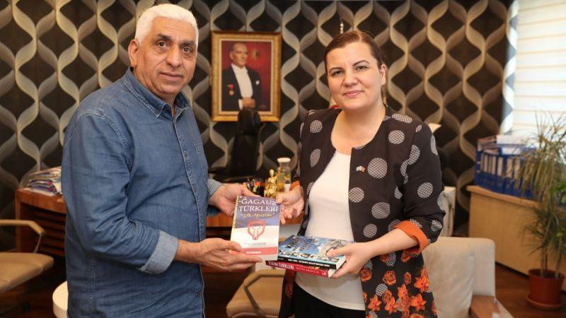 Başkan Hürriyet  Gagauz Dostluk Derneği'ni ağırladı