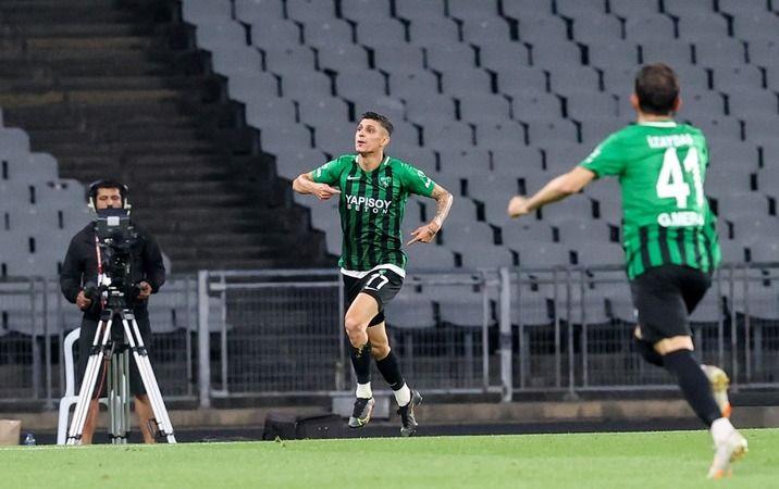 Benhur Keser'in gol sevinci!