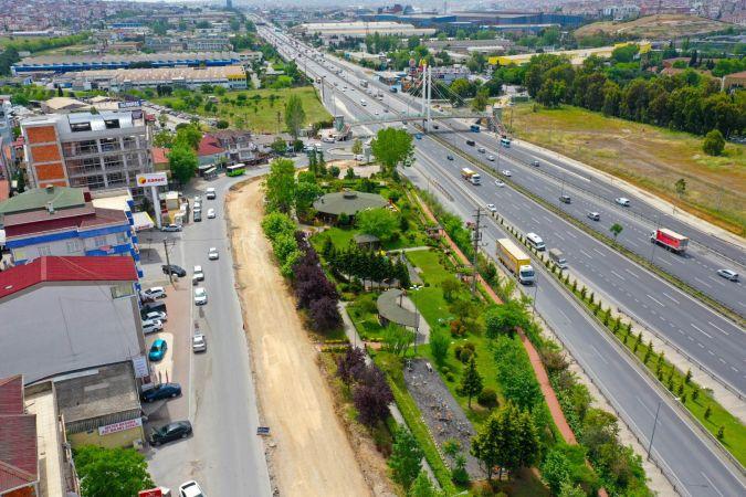 Çayırova'da önemli güzergâhtaki cadde genişletiliyor