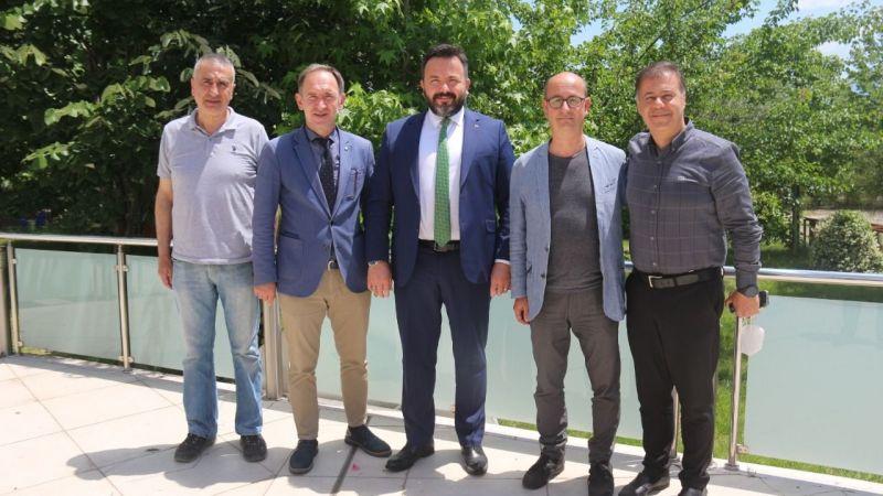 Karate Federasyonunda Başkan Adayı Aslan Abid Uğuz İzmit'te destek turunda