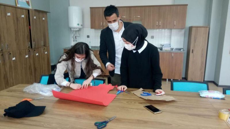 """Kartepe Ertuğrul Gazi Anadolu Lisesi'nden yeni bir e Twinning projesi daha """"Hastalık Zihinden İleri Gelir"""""""