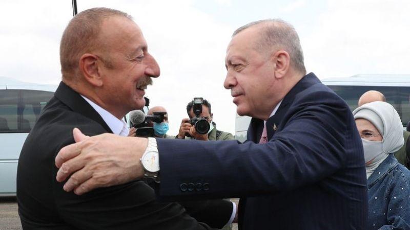 Cumhurbaşkanı Erdoğan Şuşa'da