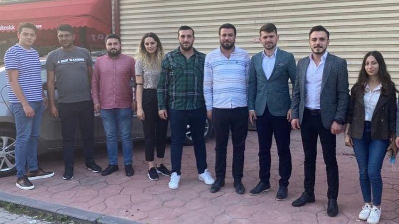 Kartepe'nin İYİ Gençleri bu defa CHP'li gençleri ziyaret etti