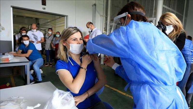 Organize sanayi bölgelerinde mobil aşı uygulamasına başlandı