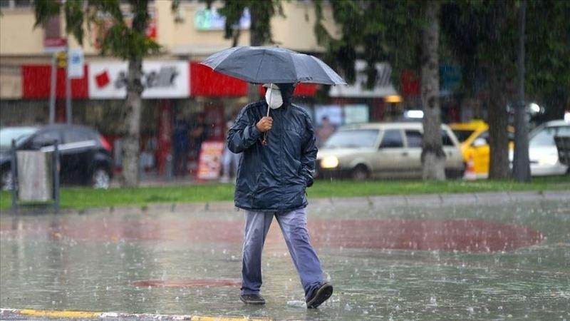 Marmara, İç Ege ve Karadeniz'in bazı kesimlerinde sağanak bekleniyor