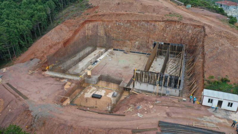 Gebze Balçık Su Deposu çalışmaları tam gaz ilerliyor