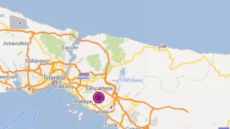 İstanbul'da meydana gelen deprem Kocaeli'de de hissedildi