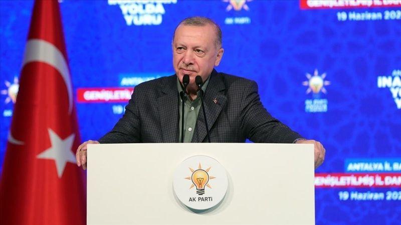 Erdoğan: Turizmde asıl hedefimiz 2019'daki 52 milyonluk turist sayısına ulaşmak