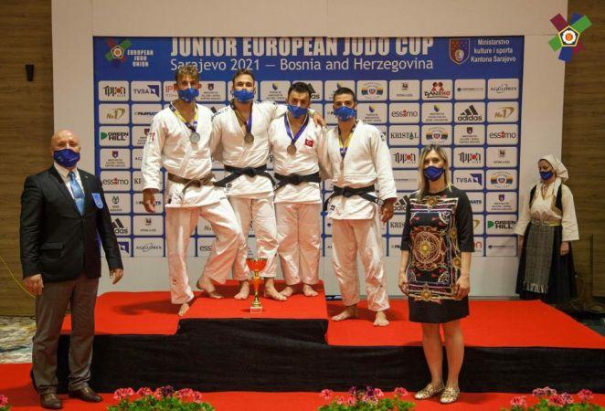 Judocular Avrupa arenasından başarı ile döndü